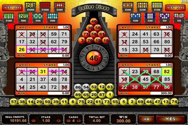 Bingo Game Strategy